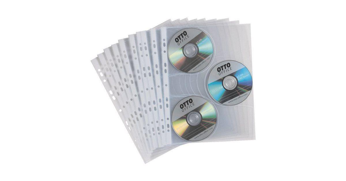 CD/DVD/Blu-ray-Schutzhüllen (240x308 mm)