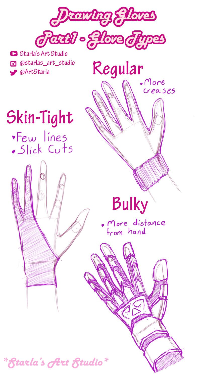 Drawing Gloves Starla S Art Studio Sketch Book Hand Drawing Reference Art Reference Poses
