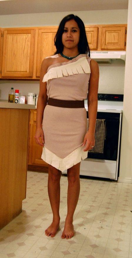 No Pattern Pocahontas Costume ( for Madisonu0027s living museum costume)  sc 1 st  Pinterest & No Pattern Pocahontas Costume ( for Madisonu0027s living museum costume ...