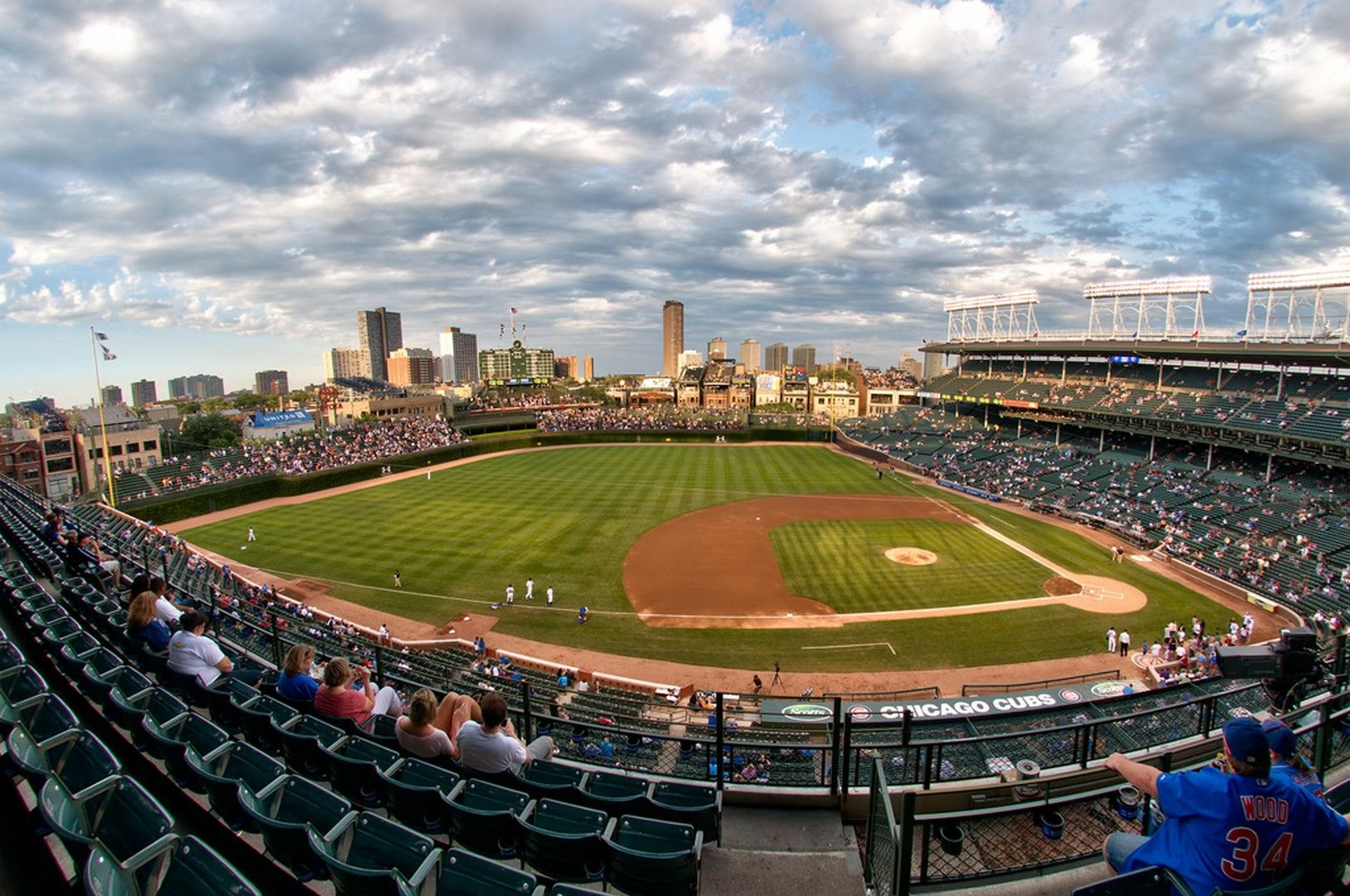 HD Wrigley Field Wallpaper