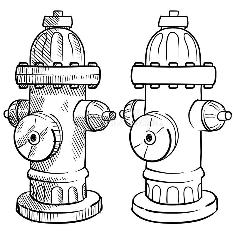 Fire Hydrant Sketch Doodle Style Fire Hydrant Vector Illustration Ad Sketch Doodle Fire Hydrant Vector Ad Fire Drawing Fire Hydrant Hydrant