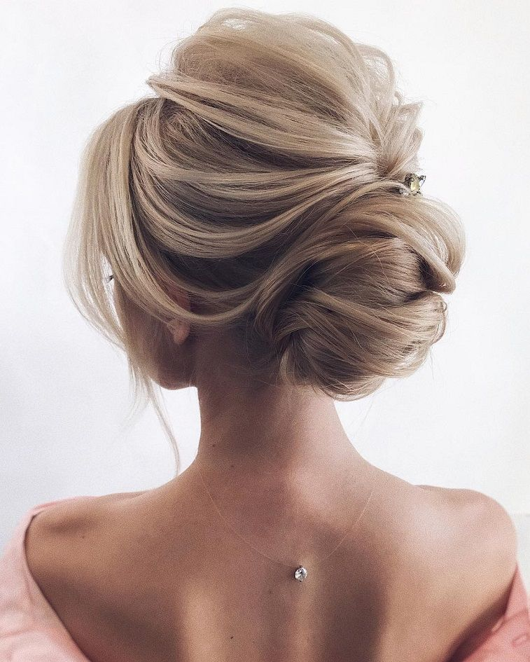 Romantic Wedding Hairstyles To Inspire You , updo #hairstyle #updo #weddinghairstyle