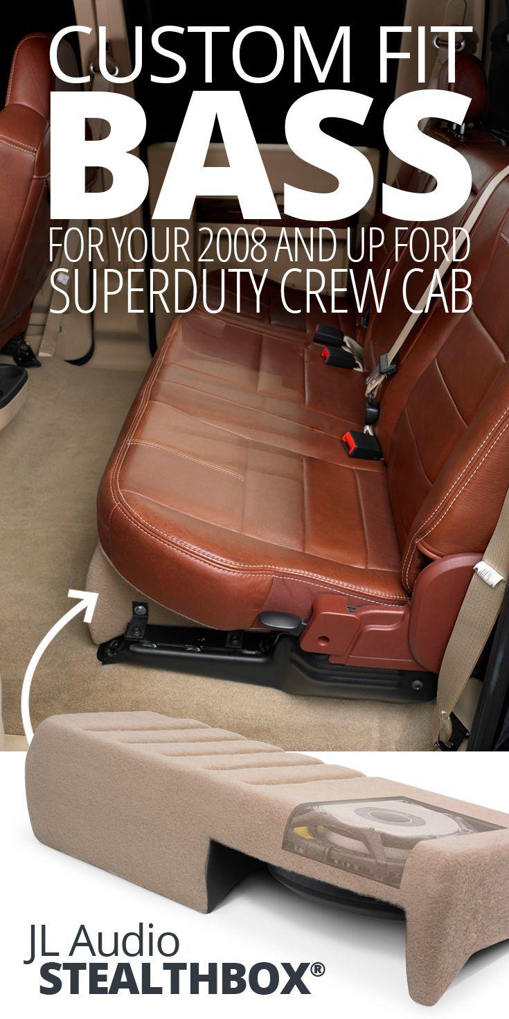 JL Audio Stealthbox® | Car Audio | Ford f150 accessories