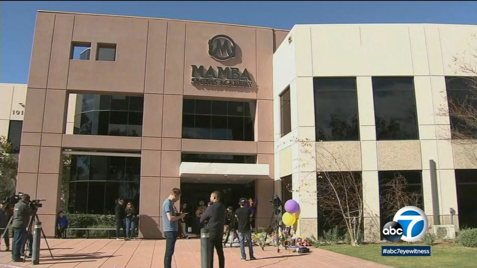 Kobe Bryant fans flock to Mamba Academy in Thousand Oaks
