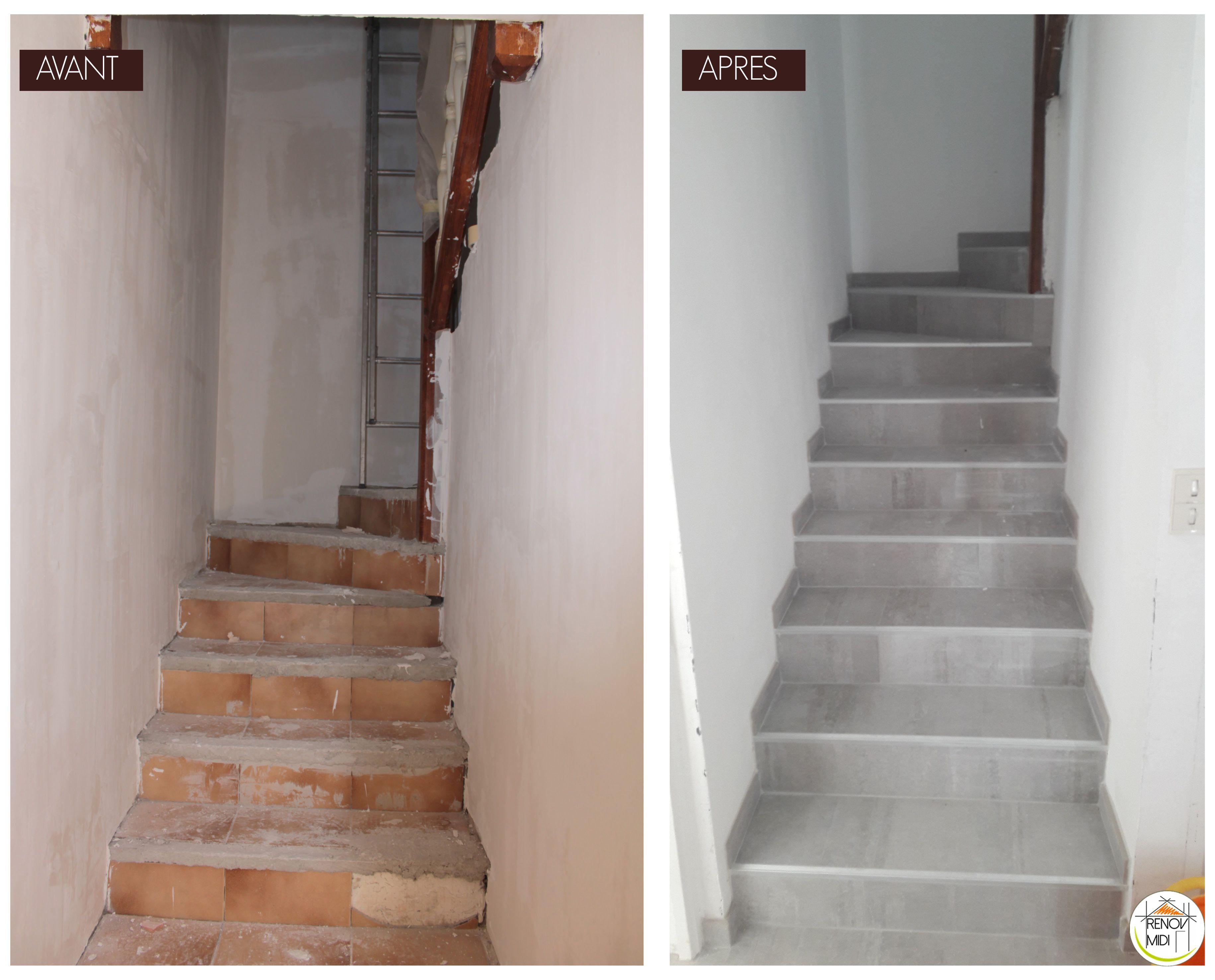 Renovation Escalier Carrelage Escalier Carrelage Renover Escalier Escalier