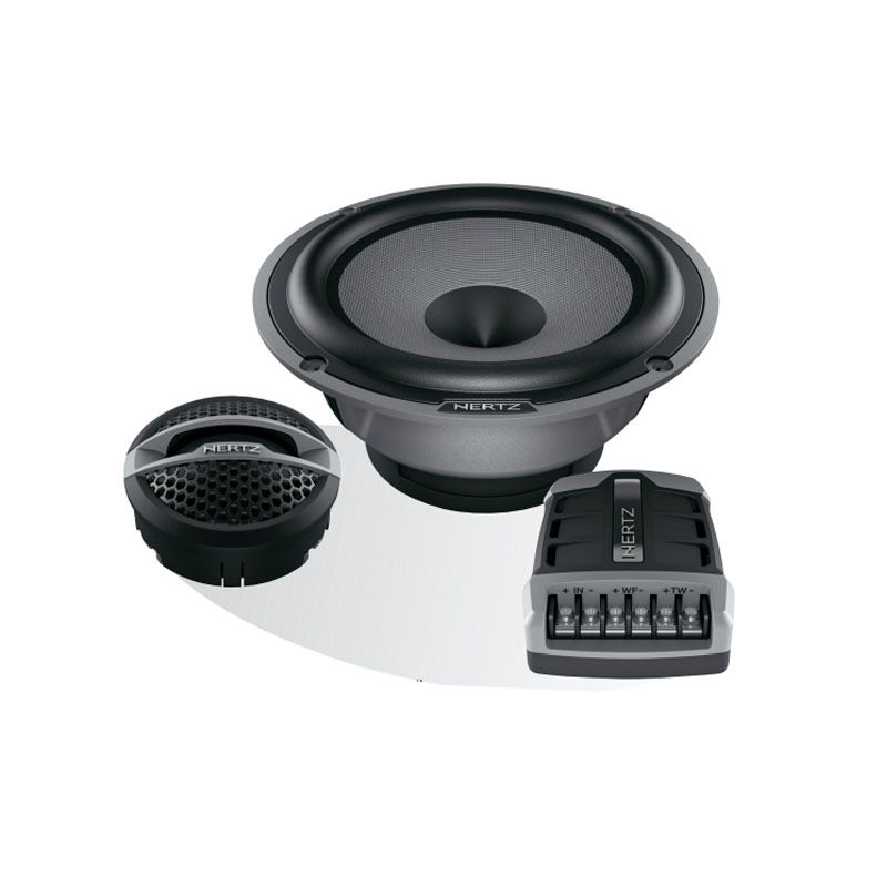 Hertz Hi Energy Hsk 165 2 Way System 250w Peak 125w Rms With Amazing Sound Reproduction 269 99 In Store Mobile Audio Car Audio Dvi