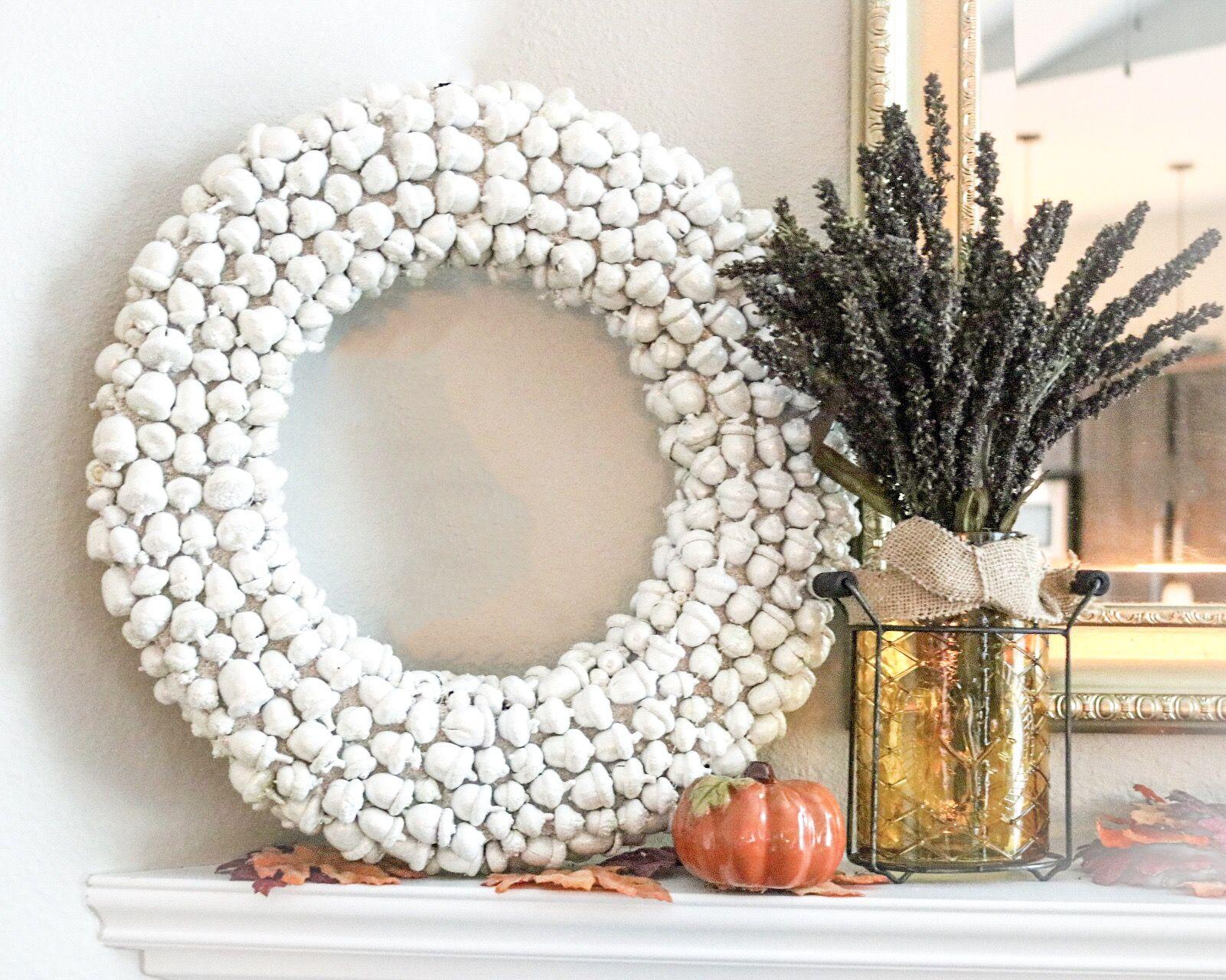Diy Acorn Wreath
