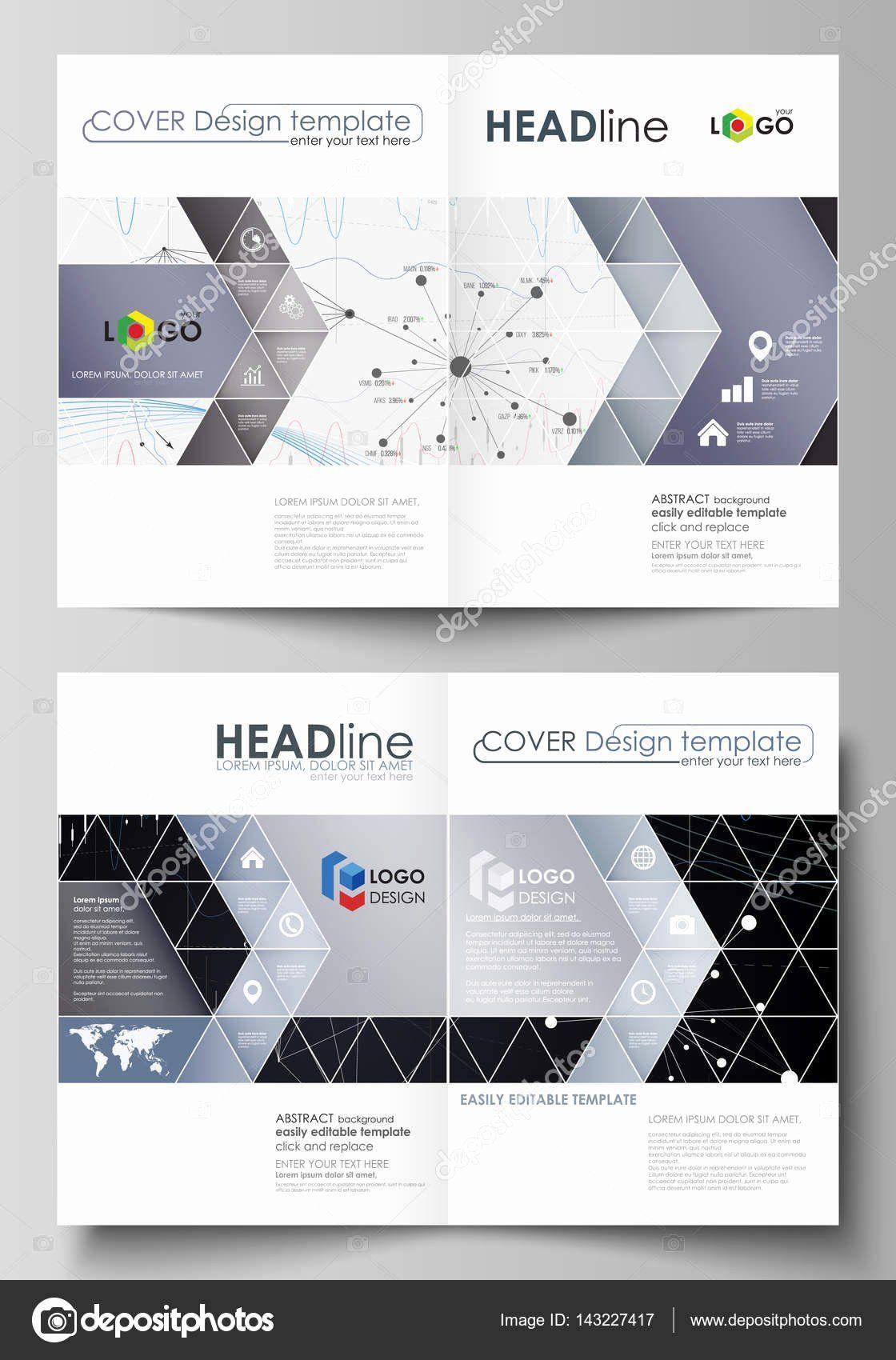 3 Panel Brochure Template Luxury Business Templates For Bi Fold Brochure Flyer Report Brochure Template Flyer Design Templates Bi Fold Brochure