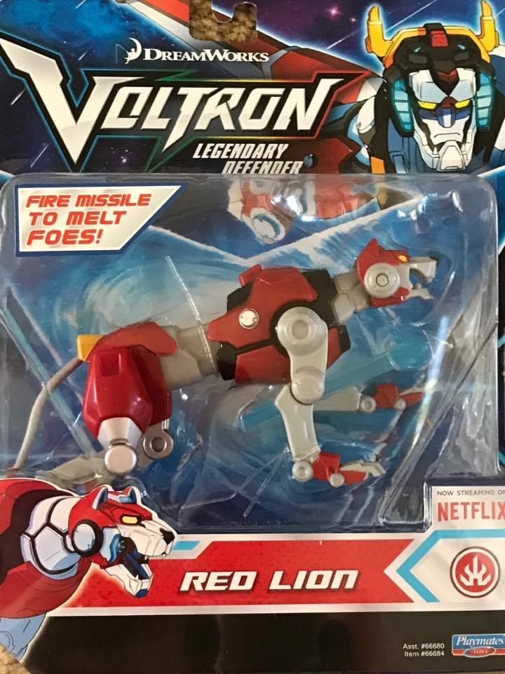 oys Collection with the Season 2 premiere of VOLTRON