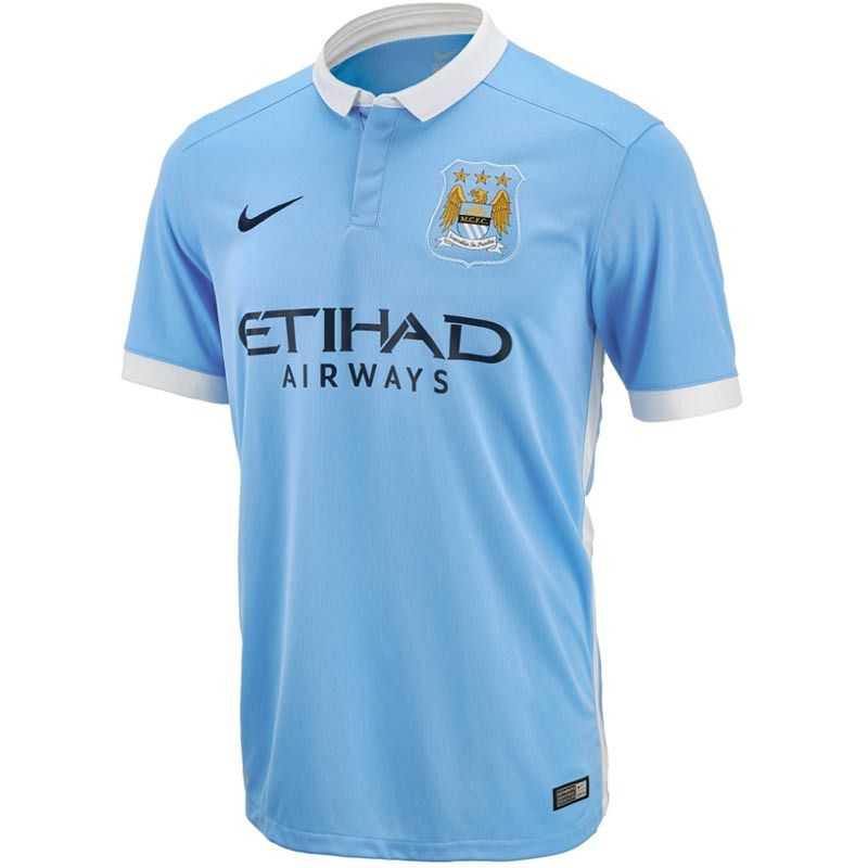 The Football Nation Ltd - Man City Home Shirt 2015-16,  54.99 (