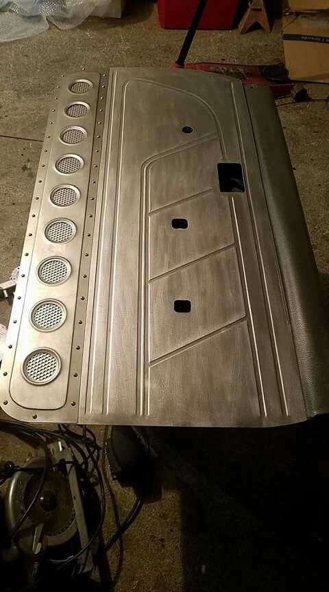 94 Toyota Door Panels Eddies Custom Designs Custom Car Interior Custom Metal Fabrication Sheet Metal Fabrication