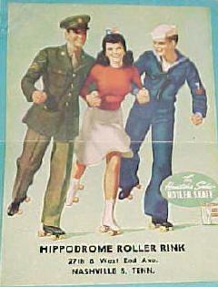 Hippodrome Roller Rink Ad