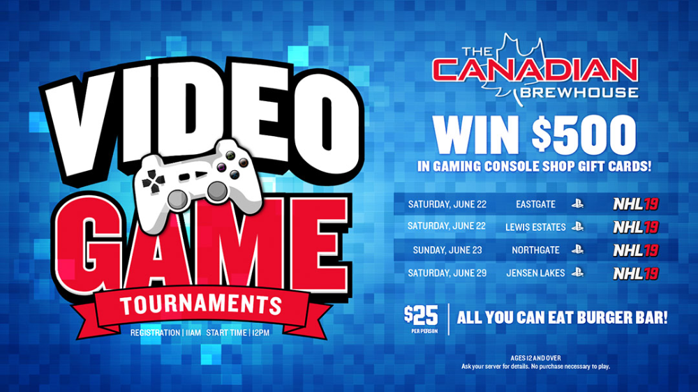 Video Game Tournaments The Canadian Video game