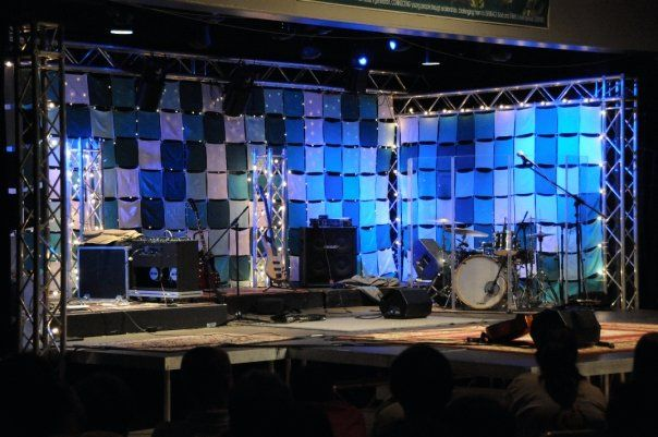 cheap church stage design ideas from rags to stages