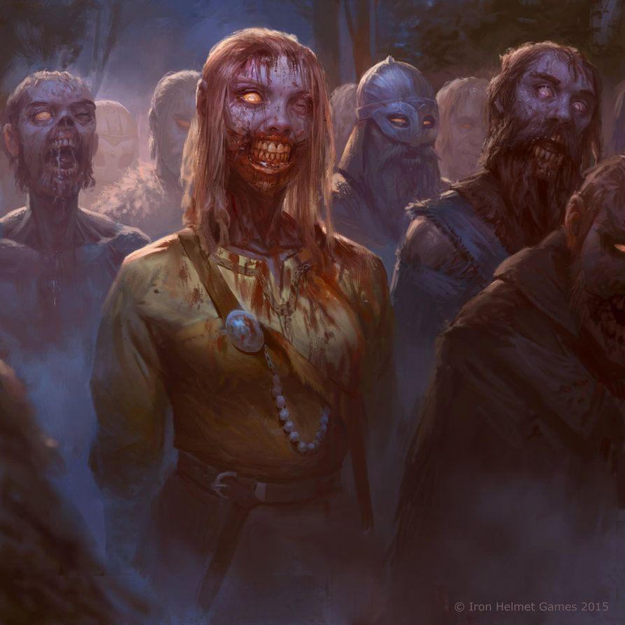 Zombie Horde Art human zombie ho...