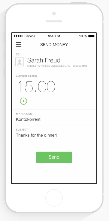 Numbrs Mobile Banking App Has Person To Person Payments Switzerland Con Imagenes Interface De Usuario Apps Sitios Web
