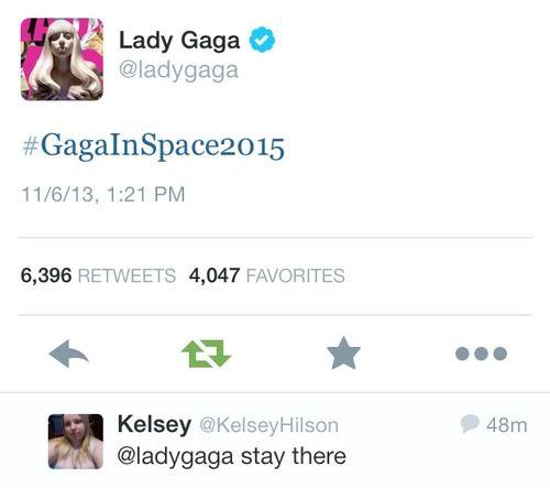 Gaga in Space