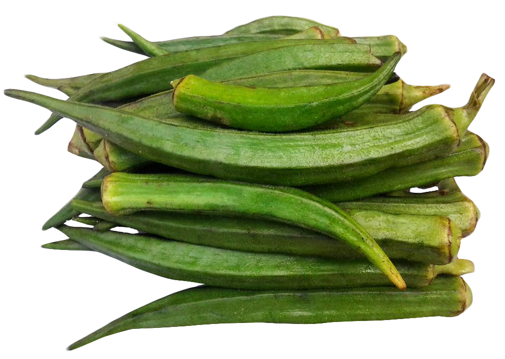 Okra Png Image Okra Green Beans Food
