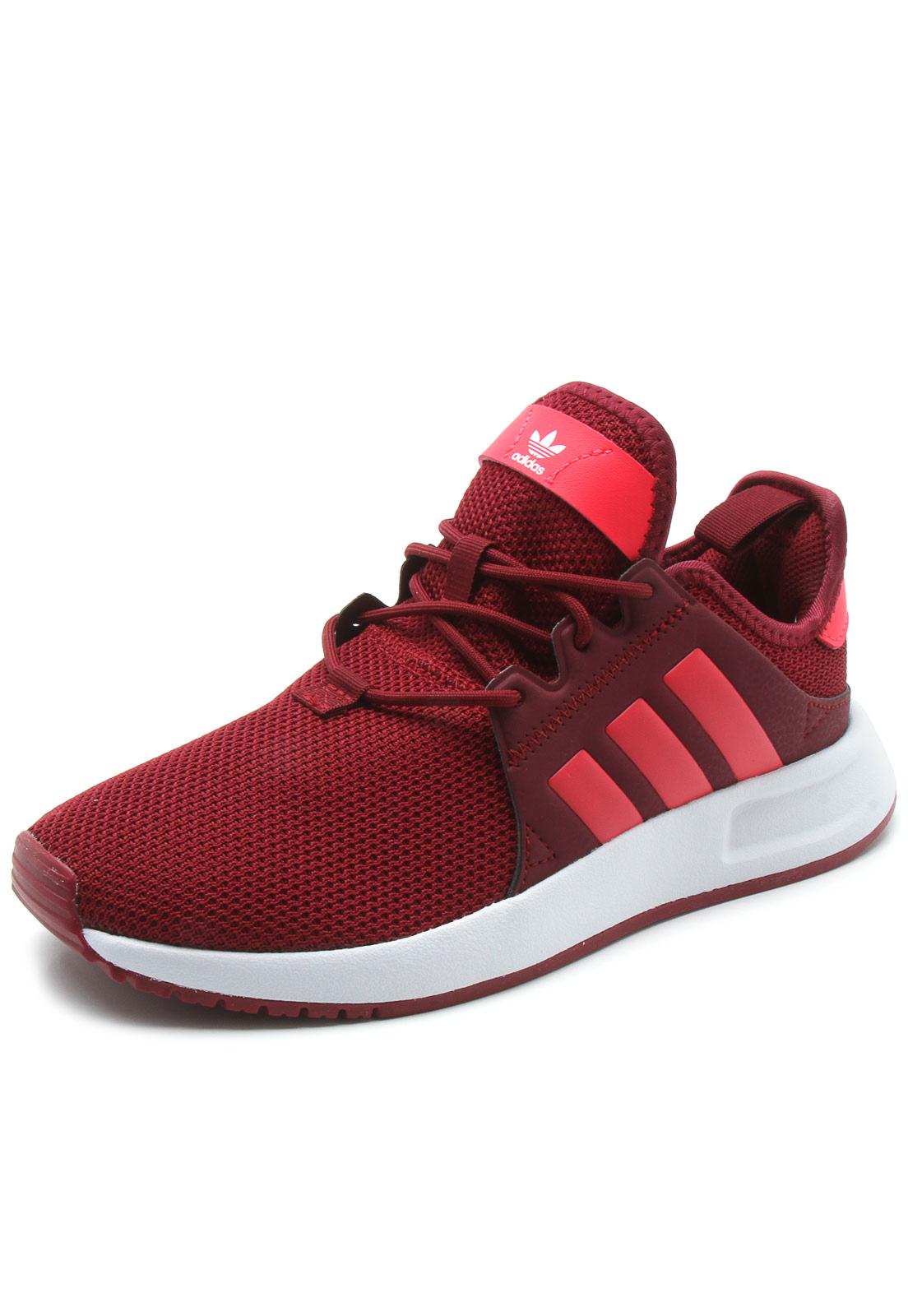 ilegal cráter Obediencia  Tênis adidas Originals X Plr J Vermelho   Tenis vermelho, Sapatos brancos  adidas, Sapatilhas adidas