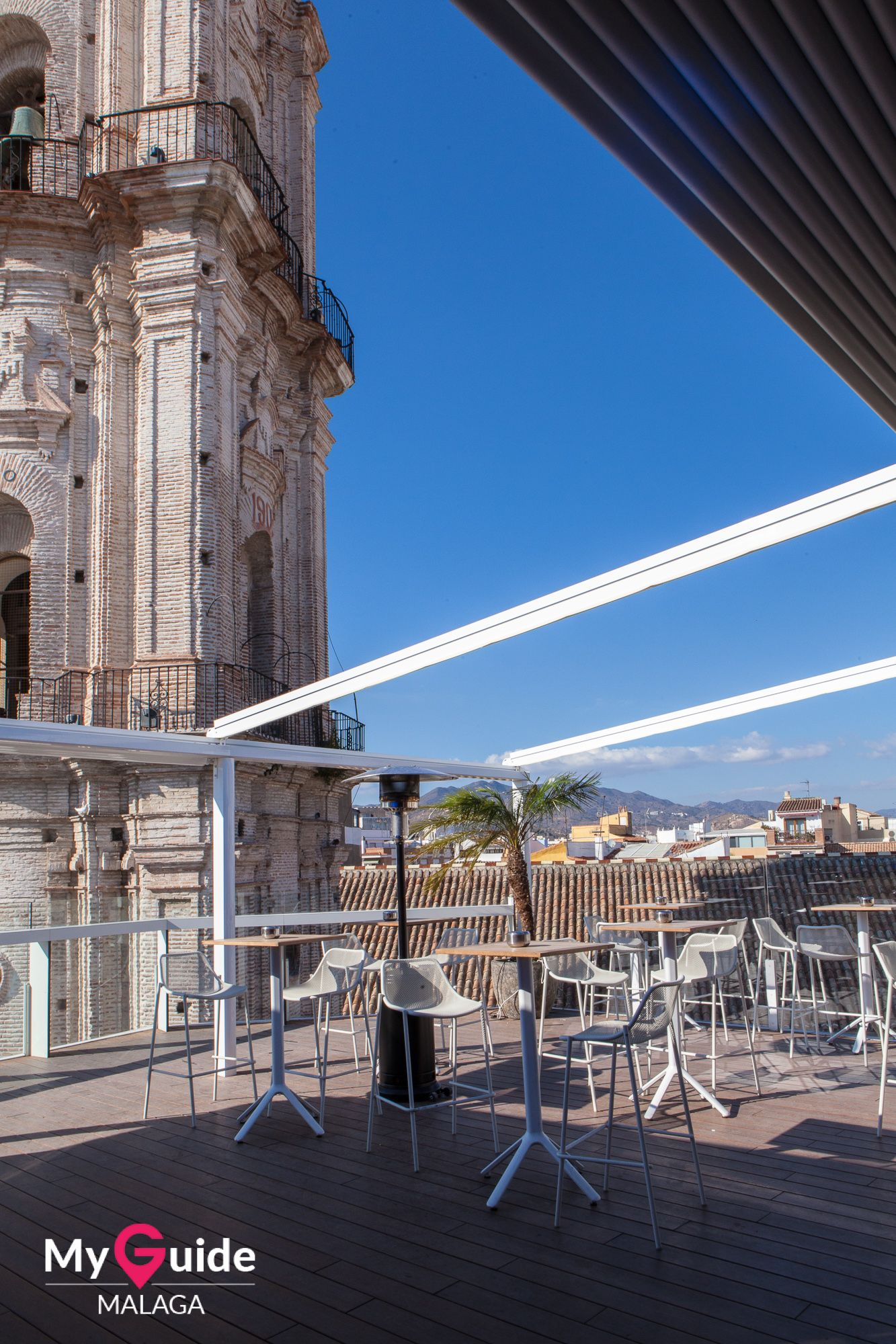 The Terraza San Juan In The Heart Of Málaga Old Town Three
