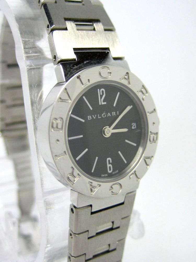 BVLGARI Stainless Steel Quartz Ladies Watch Ref BB23SS Case size  23mm   595110e89f5d7