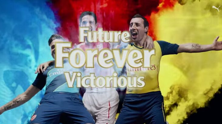 Segunda Camisetas del Arsenal 2014/15 10
