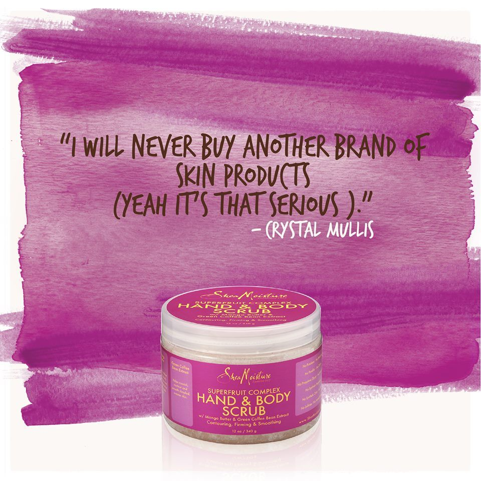 Our #Superfruit Complex Hand & Body Scrub is serious!