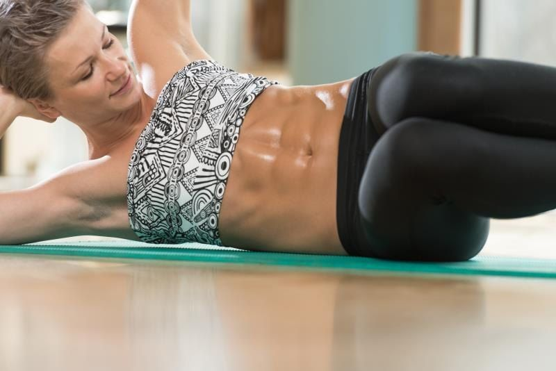 Can You Get Abs From Laughing A Lot Does Tightening Your Stomach Make You Get Abs Abs Workout For Women How To Get Abs Easy Workouts