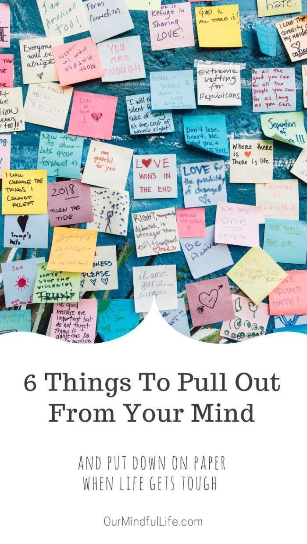 6 Brain Dump Triggers + Free Printable Brain Dump Template