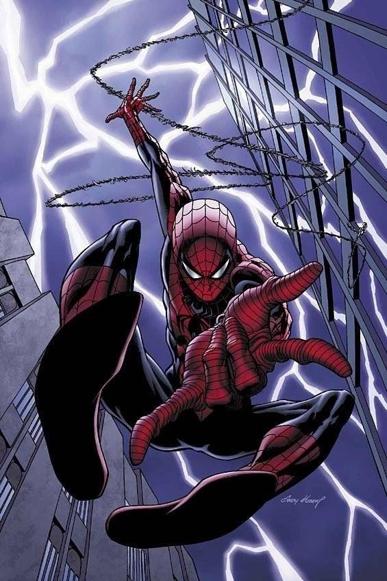 #Spiderman #Fan #Art. (Spider-Man Unlimited Vol.3 #1 Cover) By: Andy Kubert. (THE * 5 * STÅR * ÅWARD * OF: * AW YEAH, IT'S MAJOR ÅWESOMENESS!!!™)[THANK Ü 4 PINNING!!!<·><]<©>ÅÅÅ+(OB4E)