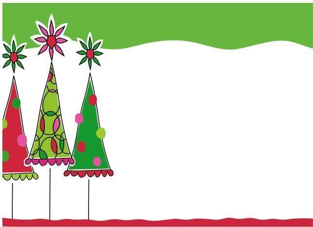Christmas trees border art ideas 5th grade Pinterest Christmas