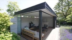 Resultado de imagen de buitenkamer in achtertuin modern
