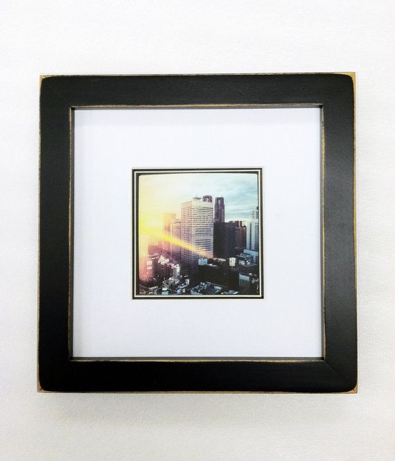 8x8 1 Gallery Picture Frame Black White Matte Etsy Picture Frame Gallery 8x8 Picture Frame Frame
