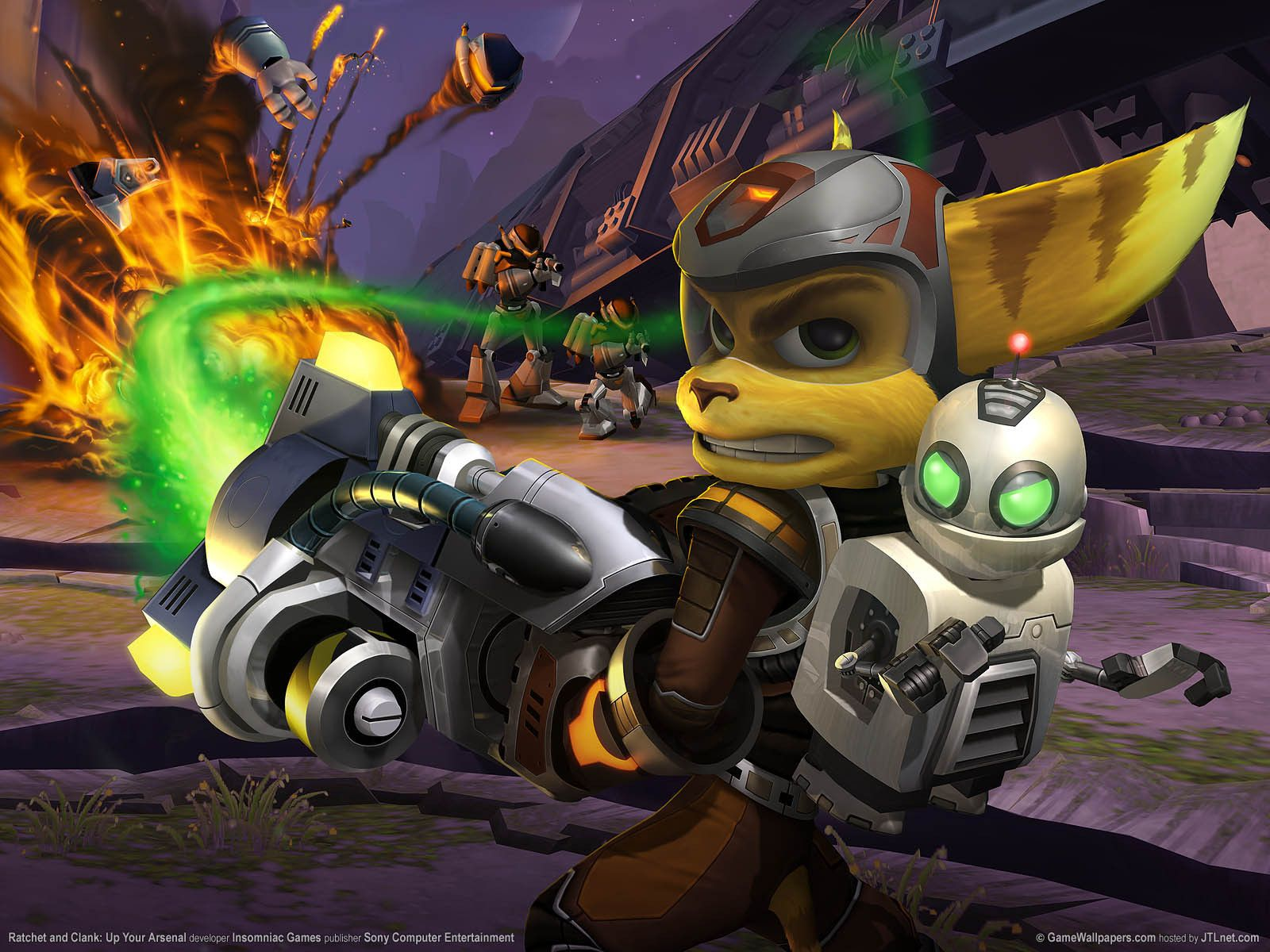 Ratchet Clank Wallpapers Wallpaper Cave