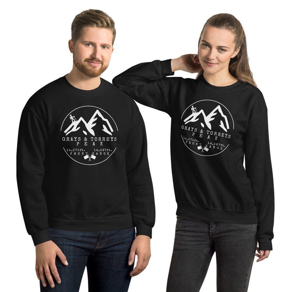 Grays & Torreys Peak Colorado 14er Unisex Sweatshirt
