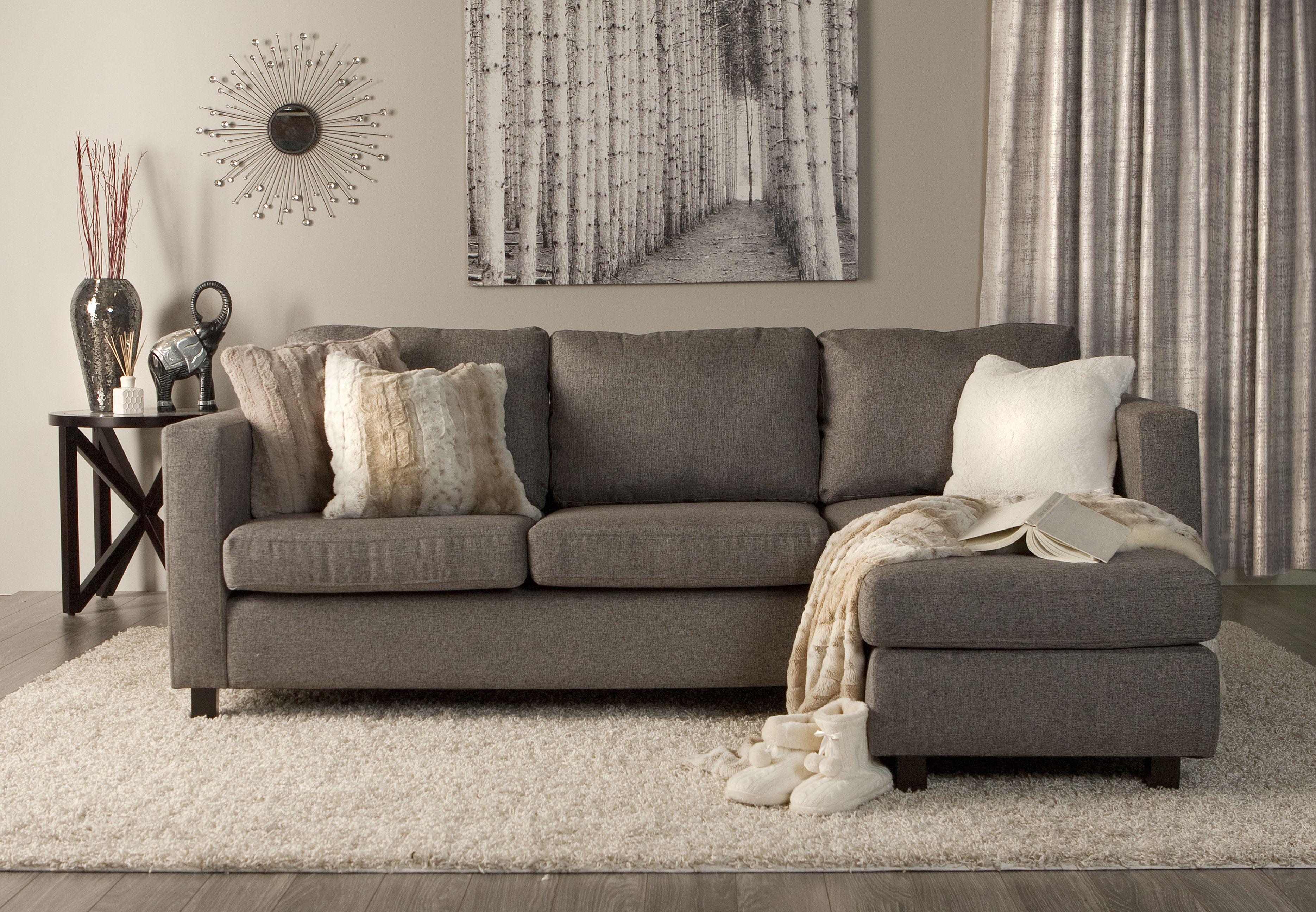 Canapé Places CASA Avec Chaise Longue Réversible Livingroom - Canapé 3 places pour idee de deco pour salon