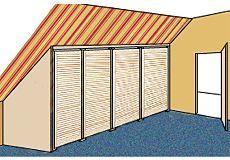 Dachschrägenschrank bauanleitung für einen geräumigen dachschrägenschrank schrank