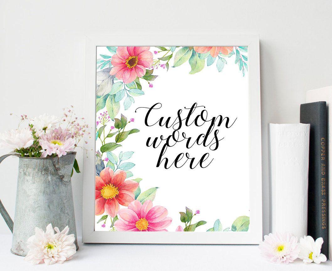 Custom Quote Prints Custom Scripture Printcustom Words Printpersonalized Quote
