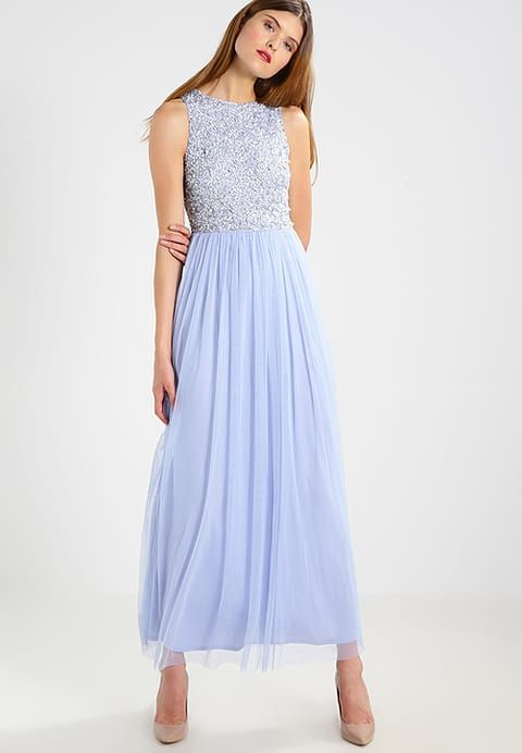 PICASSO - Occasion wear - sky blue | Lace beading and Beads