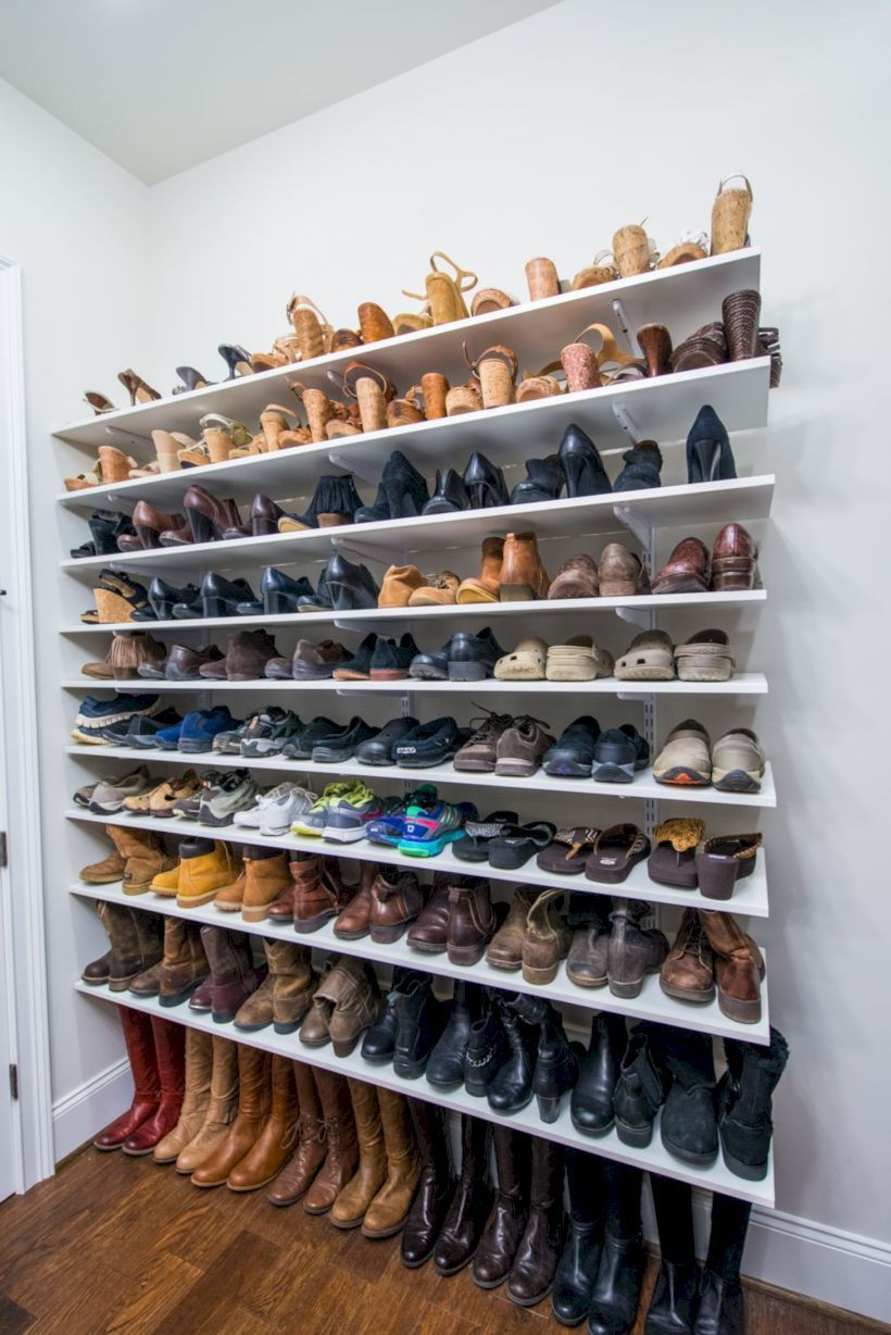 49 exciting shoe storage and organization ideas closet