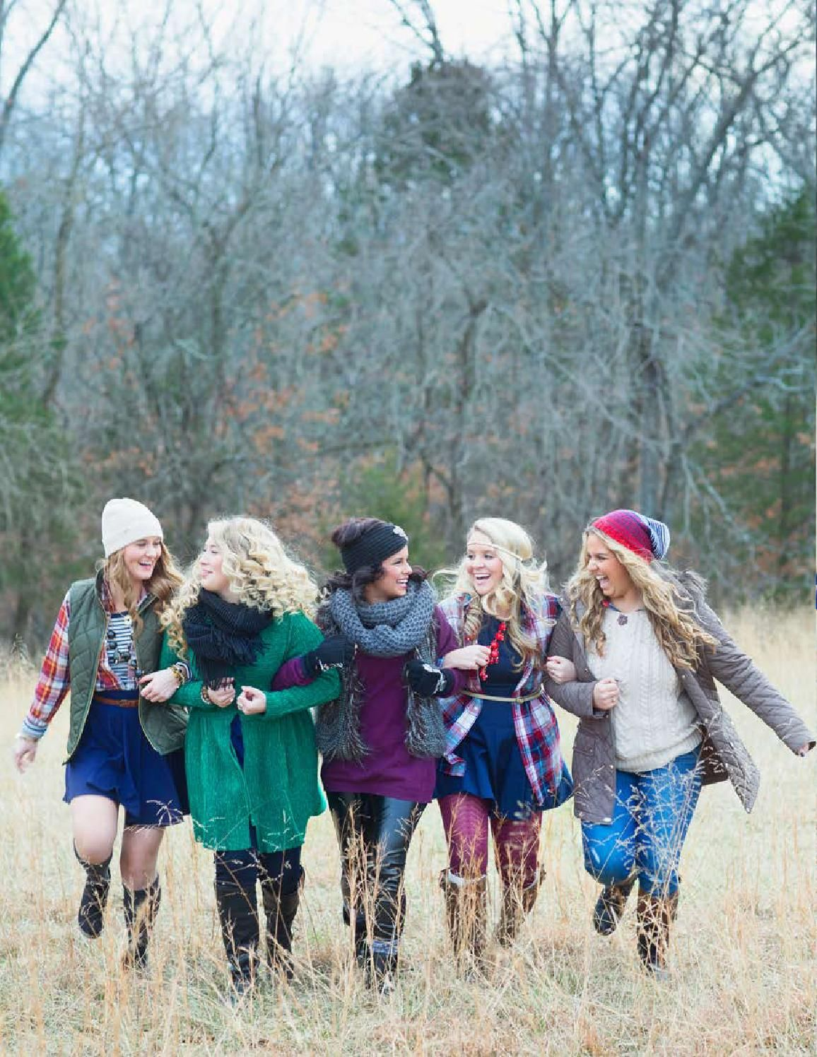 ISSUU - 2014 Senior Winter Editorial by d-Squared Designs