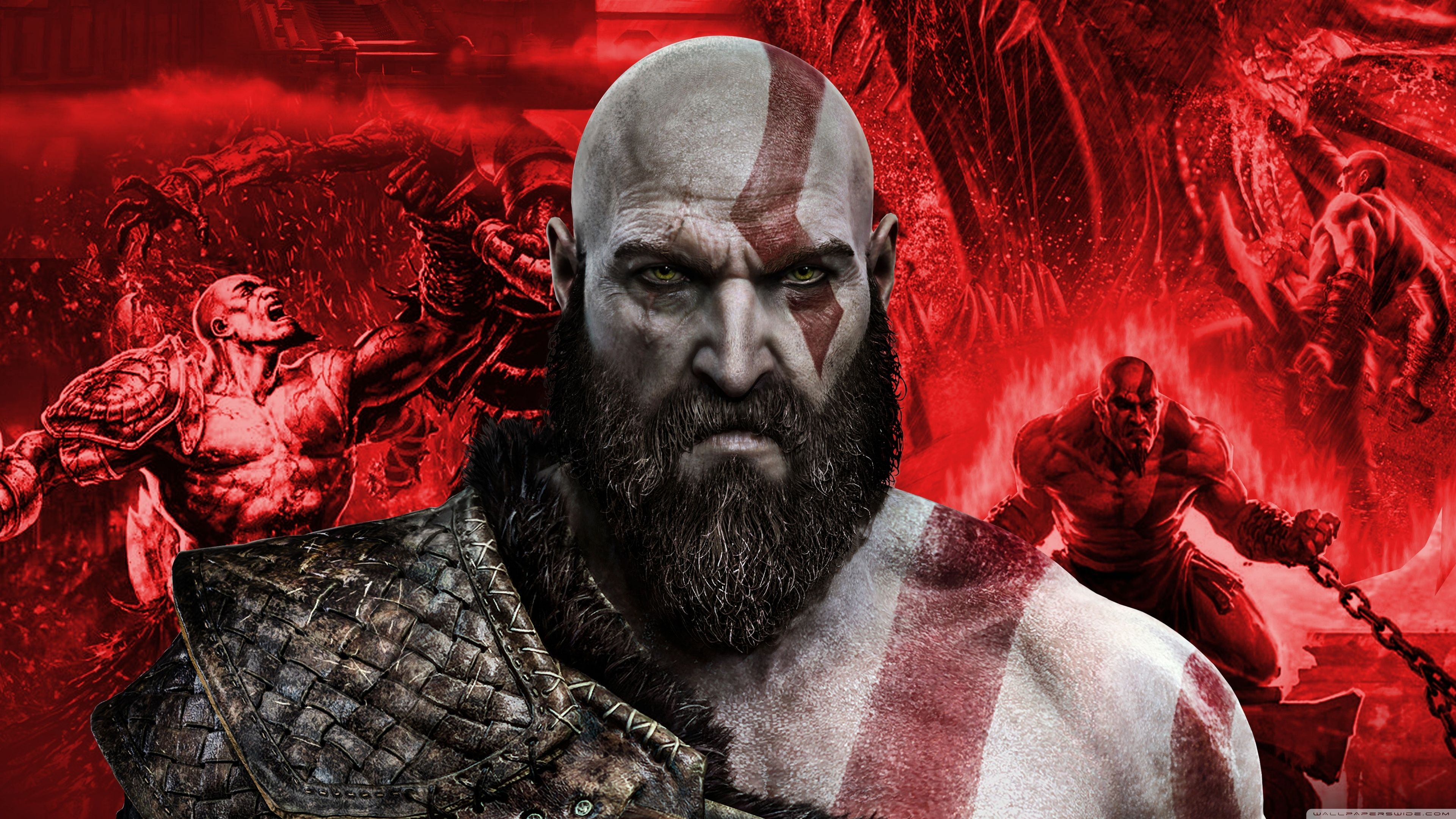 Best Of Kratos 4k Hd Desktop Wallpaper For 4k Ultra Hd God Of