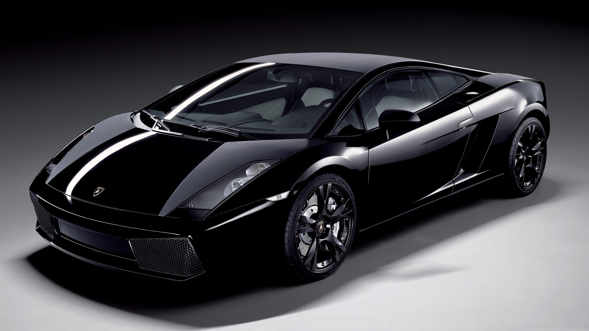 Lamborghini Gallardo Black 1920x1080 HD Image Cars