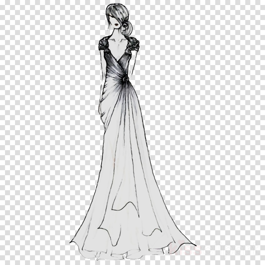 Wedding Gown Clipart Cinderella Wedding Dress Drawing Clipart Dress Clothing Fashion In 2020 Wedding Dress Drawings Victorian Wedding Dress Wedding Gowns