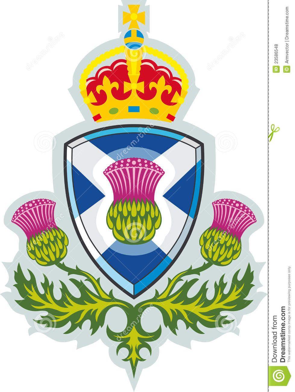 Scottish Thistle Mbol Of Scotland Scotland Pinterest