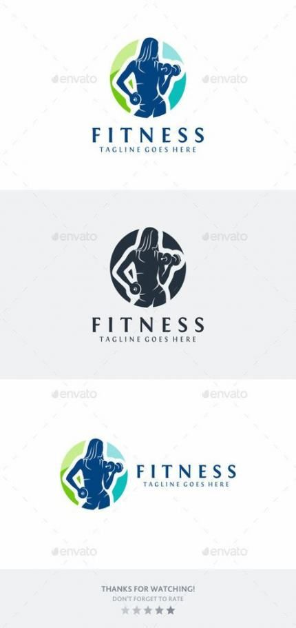 59 Ideas For Fitness Logo Design Illustrations #fitness #design