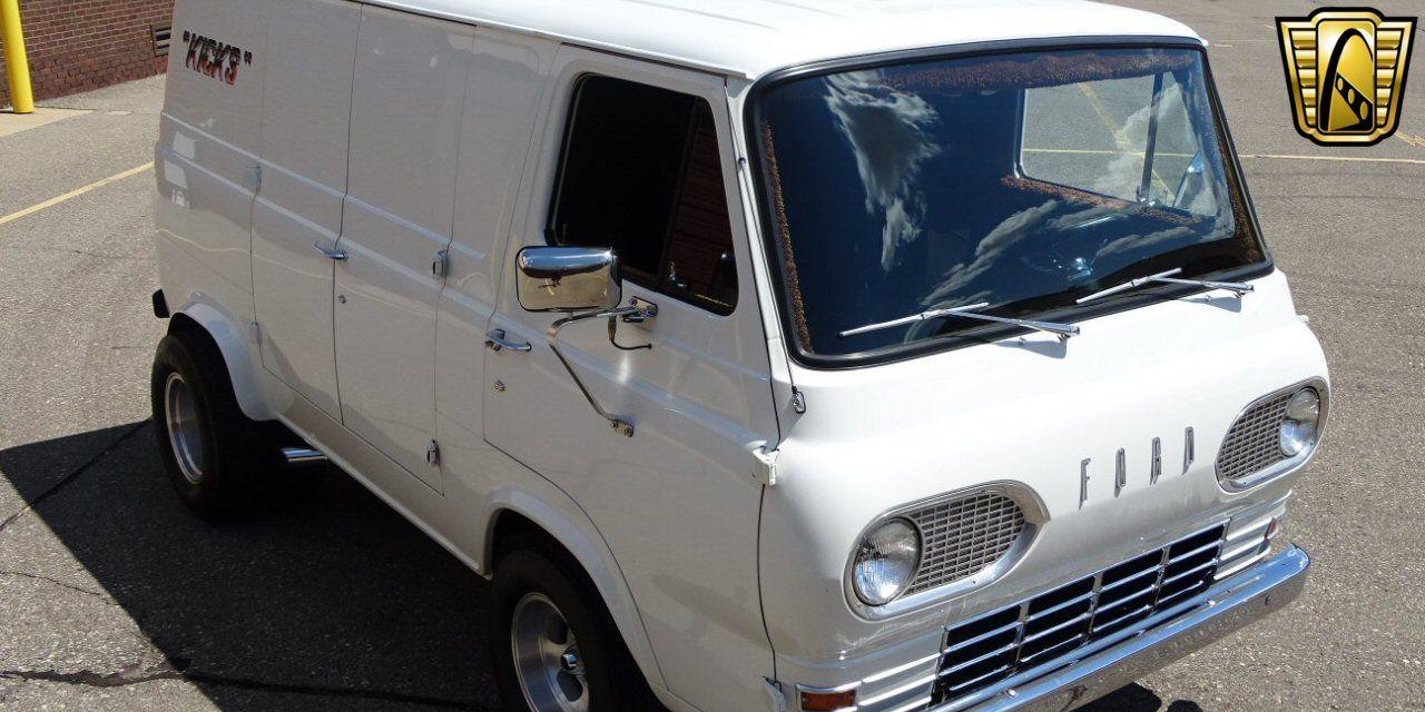 For Sale White 1966 Ford Econoline Hot Rod 351 Cid V8 3 Speed