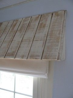 8 Wonderfully Creative Window Treatments Chic Home Decor Wood Valance Shabby Chic Bedrooms
