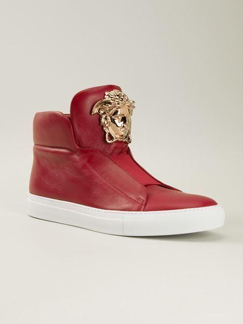 e826f7b9943d Versace Medusa Hi-top Sneakers - Jean Pierre Bua - Farfetch.com ...