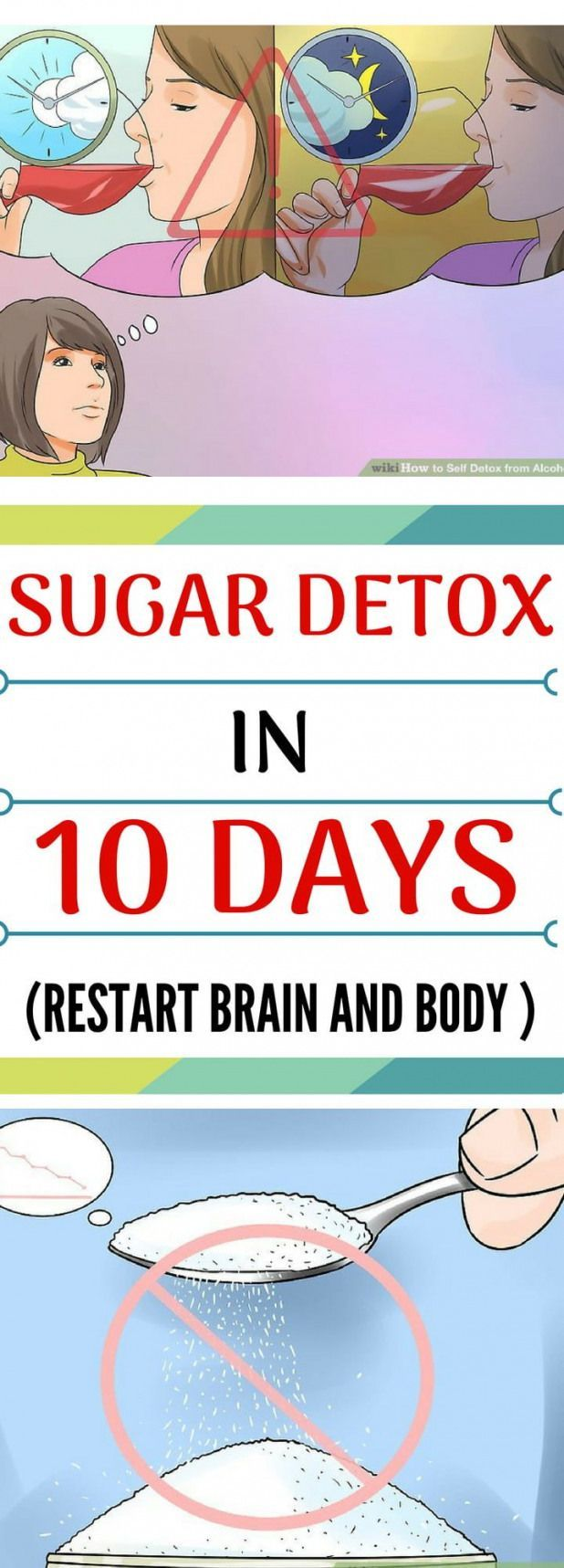 POPSUGAR #sugardetoxplan Sugar Detox In 10 Days (Restart Brain and Body) #detoxsmoothie #sugardetoxplan